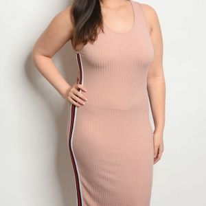 Dresses & Skirts - BLUSH PLUS SIZE DRESS